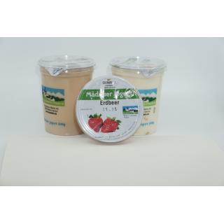 Joghurt Erdbeer